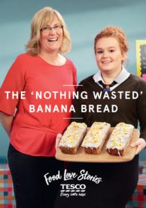 Advert for banana bread