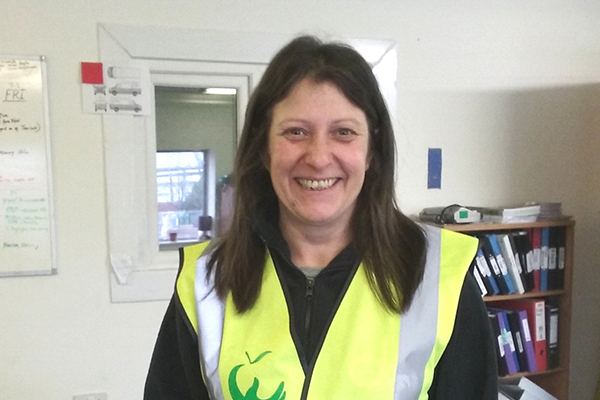 FareShare volunteer Maria