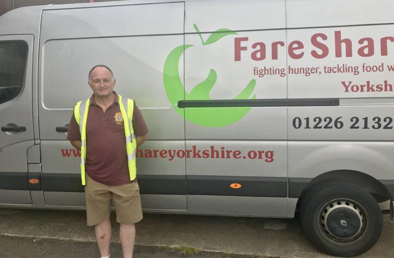 Yorkshire volunteer Andy