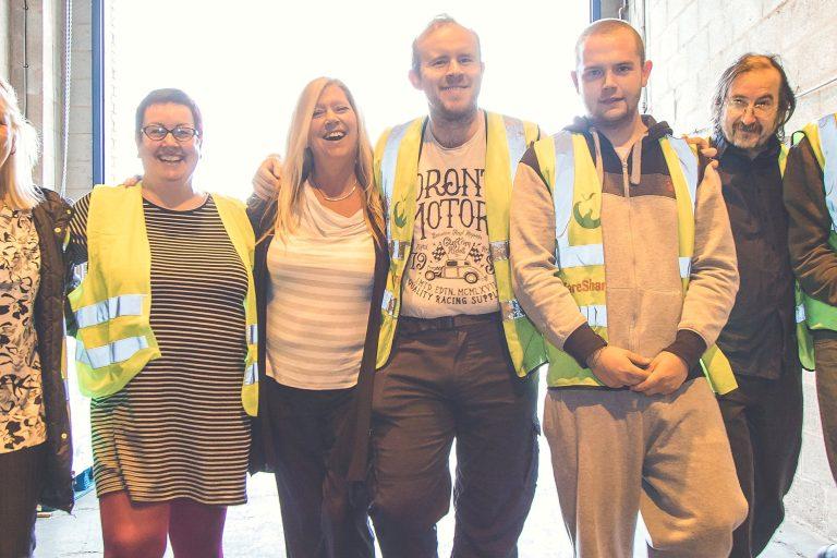 FareShare West Midlands volunteer team.