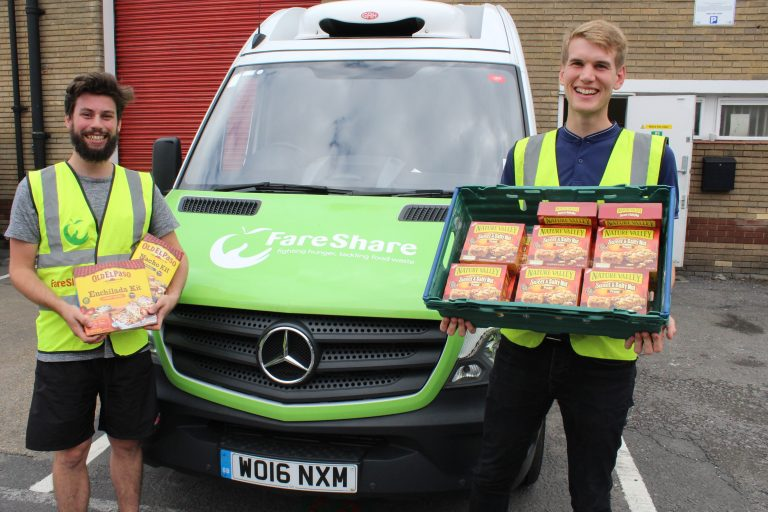 General Mills FareShare Delivery East Anglia