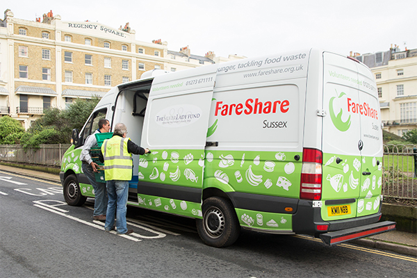 FareShare Sussex, Guy volunteer