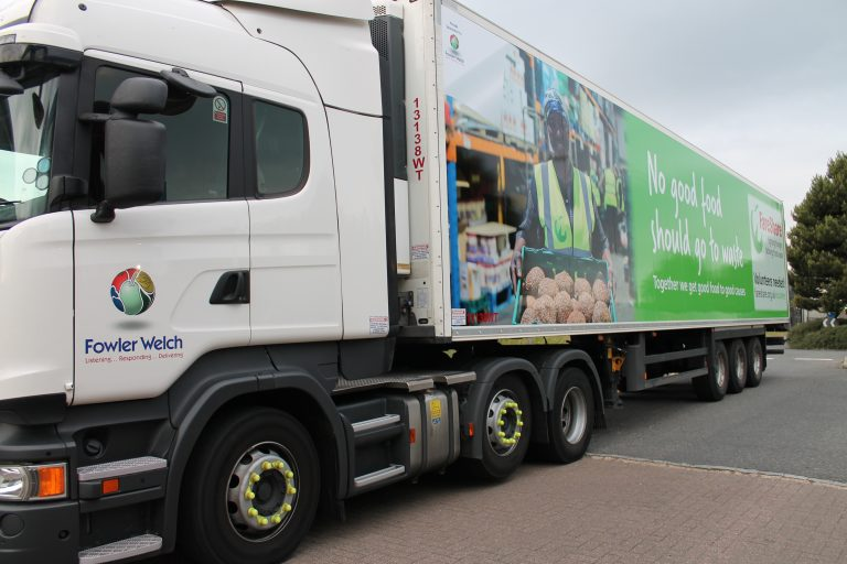 FareShare Fowler Welch truck