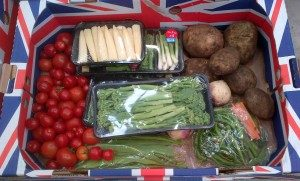Thanet Earth Vegetables for FareShare