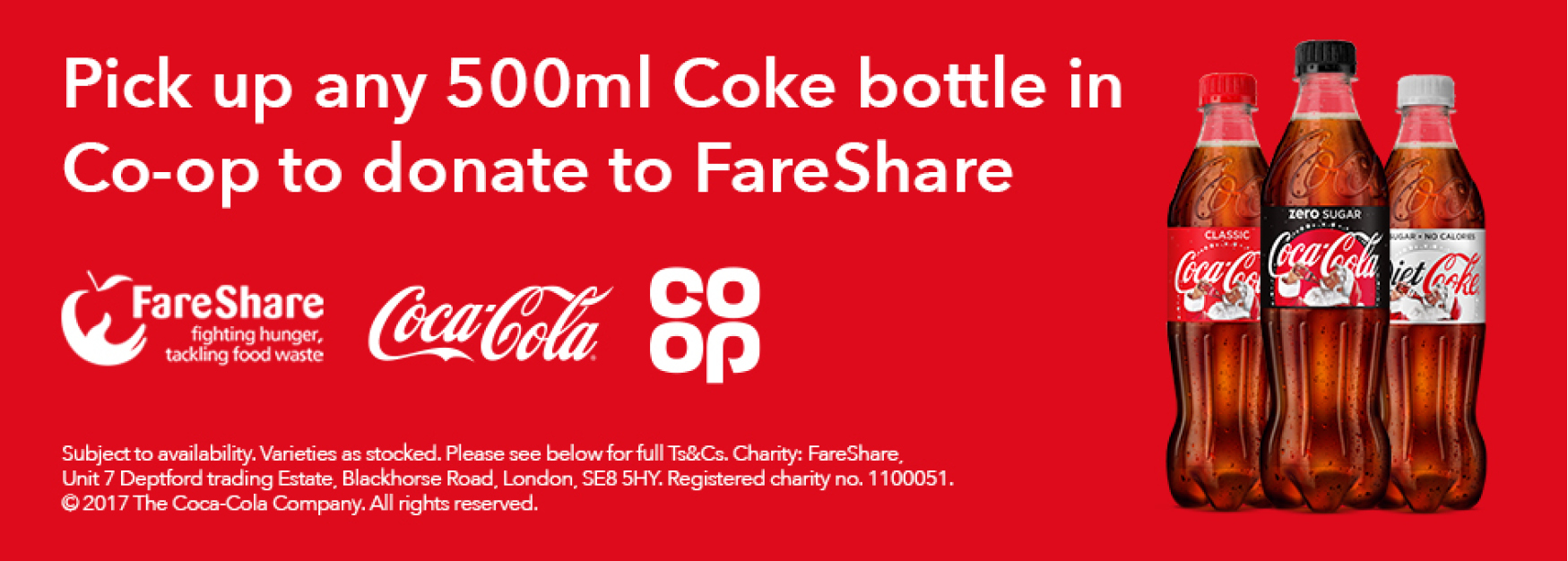 Coca-Cola Co-op Promotion with FareShare