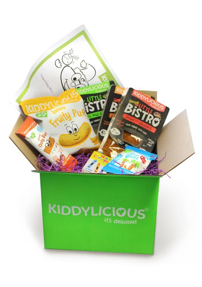 Kiddylicious Christmas gift box