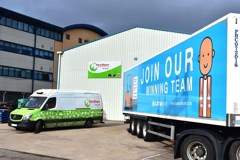 Culina logistics partner with FareShare