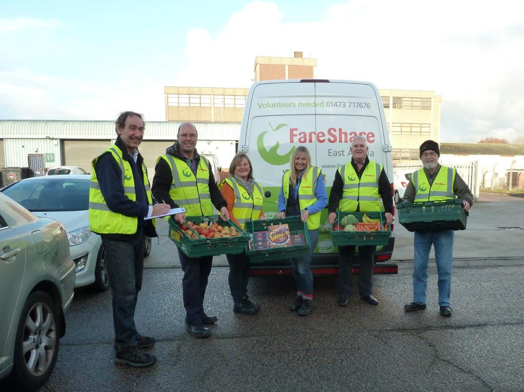 FareShare East Anglia volunteers