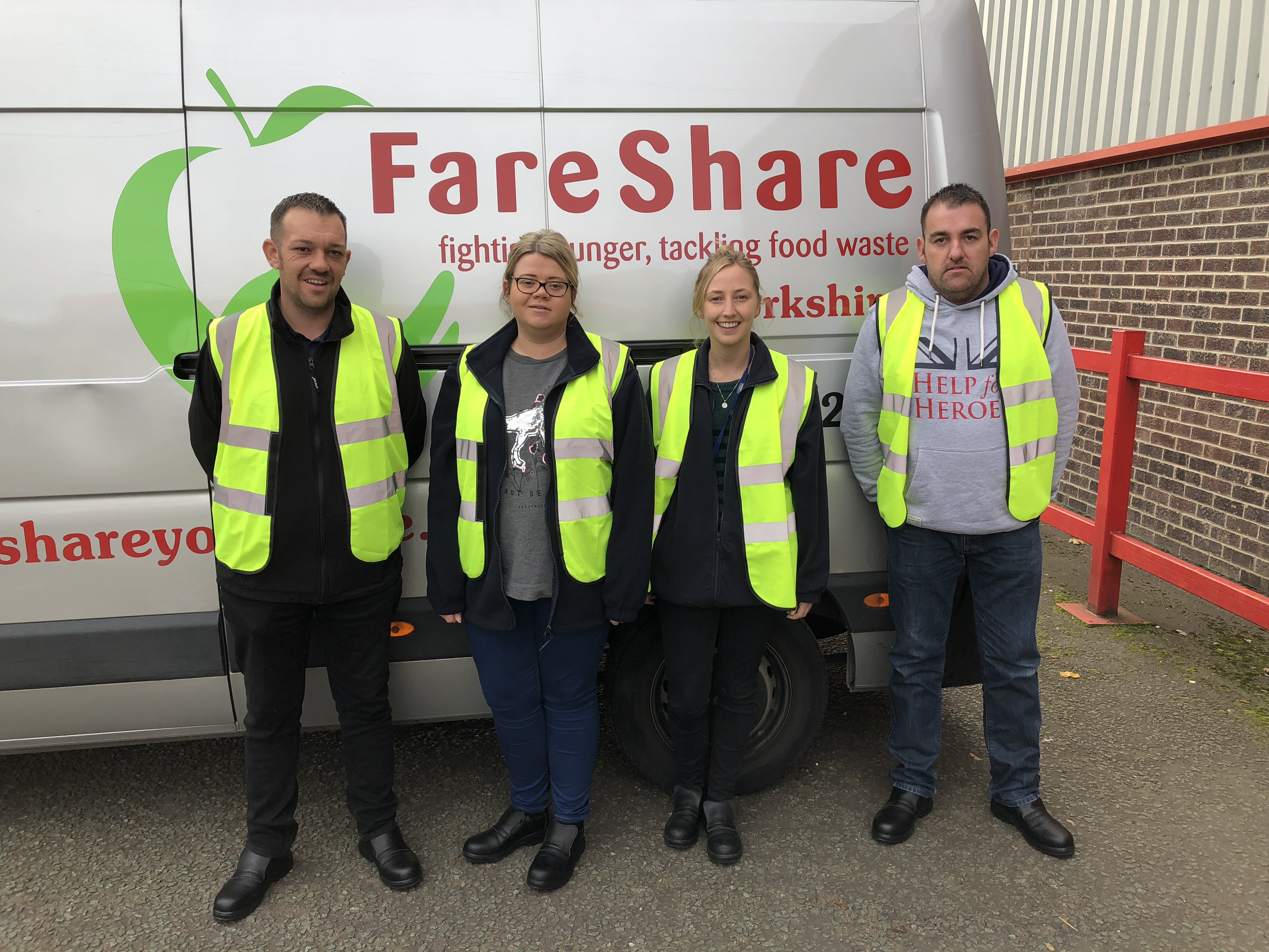 Kerry Foods volunteer at FareShare