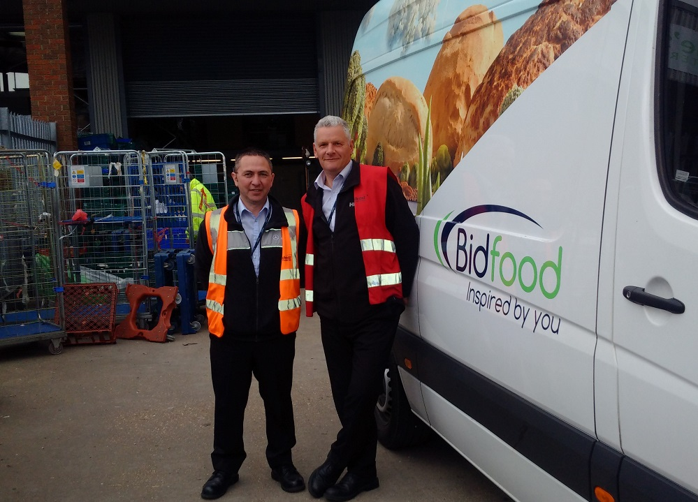 Bidfood delivery to FareShare