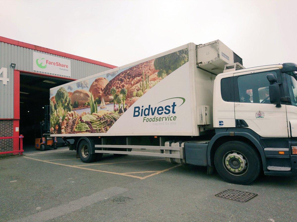 Bidvest Logistics partner with FareShare
