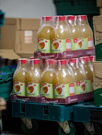 innocent products at FareShare