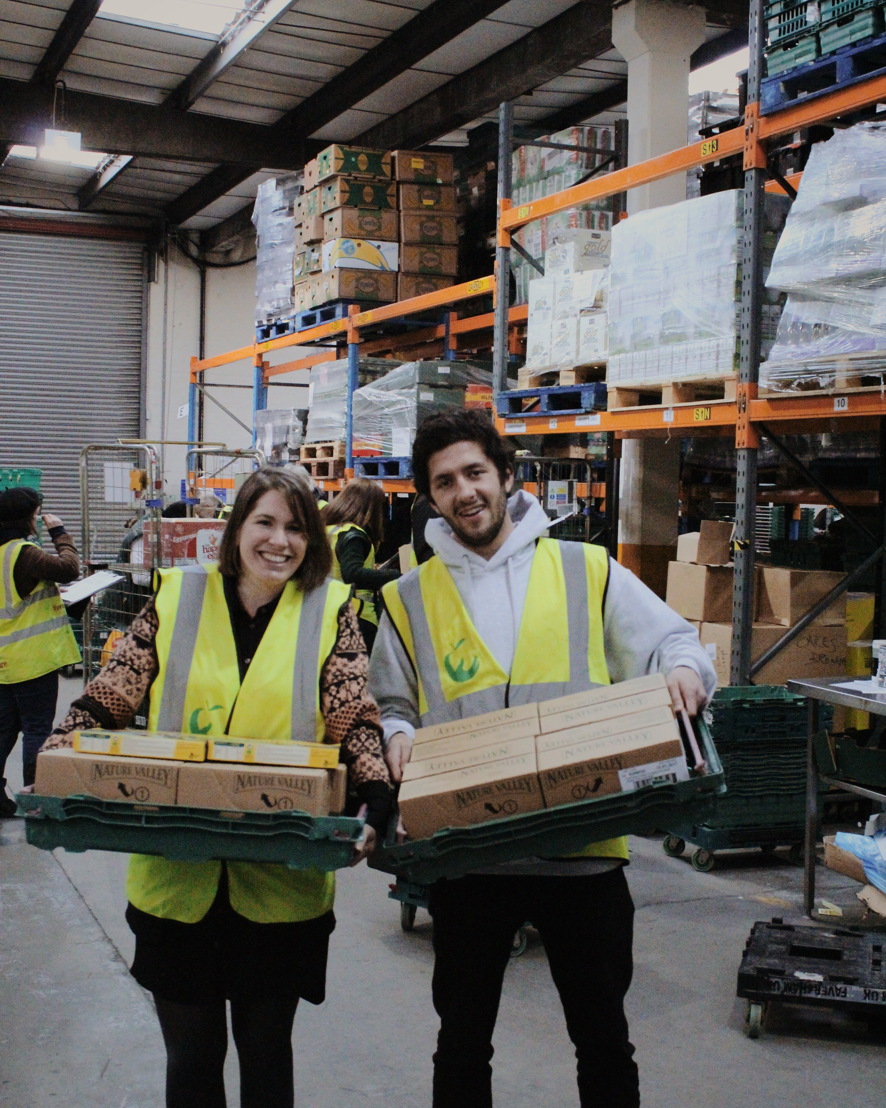 General Mills surplus products at FareShare London