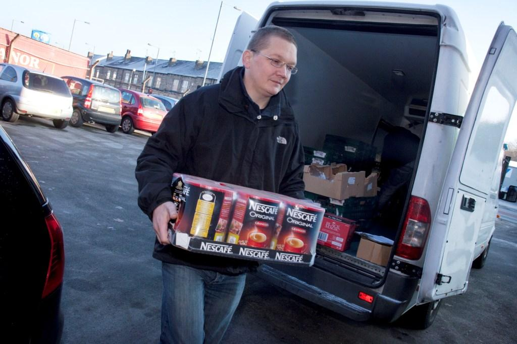 Neslte products donated to FareShare