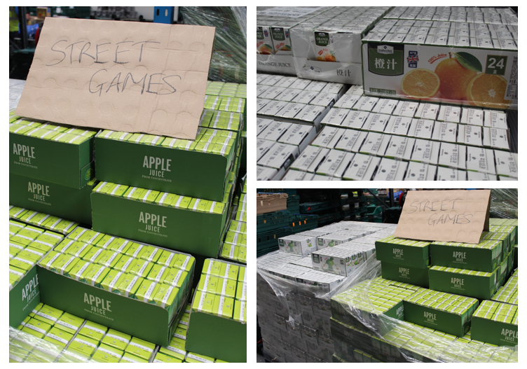 Refresco Gerber donate surplus juice to FareShare