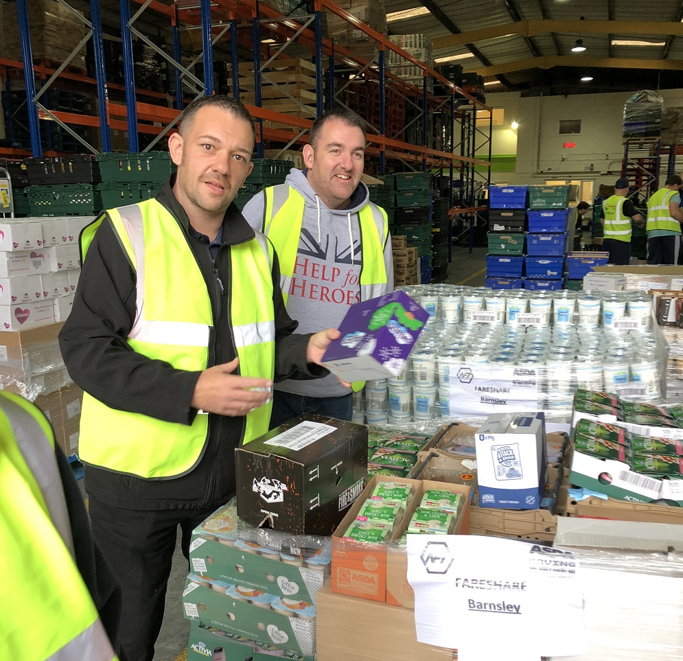 Kerry Foods volunteers at FareShare Yorkshire