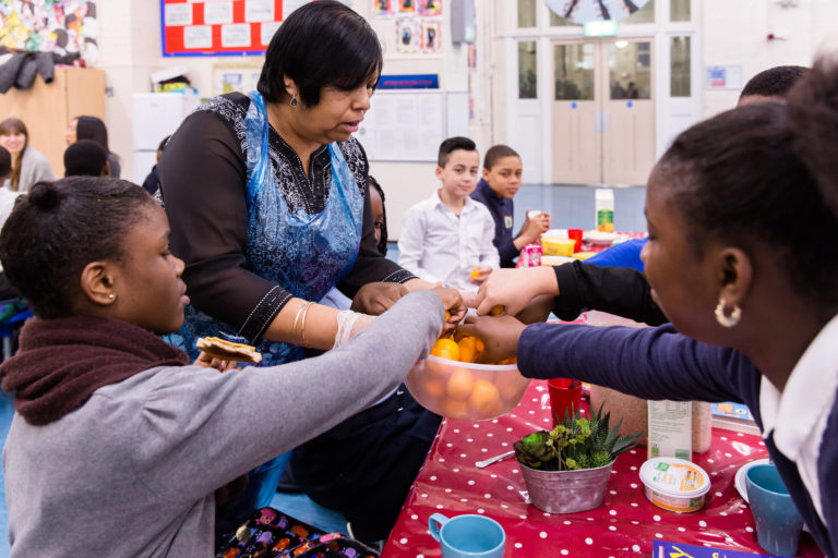 FareShare charity member_ Deptford Park Primary School