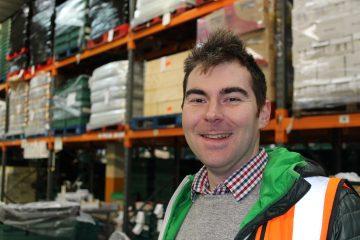 Richard Miller, volunteer, FareShare London