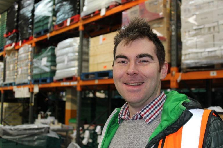 Jon Whitefield, FareShare London Warehouse Shift Coordinator