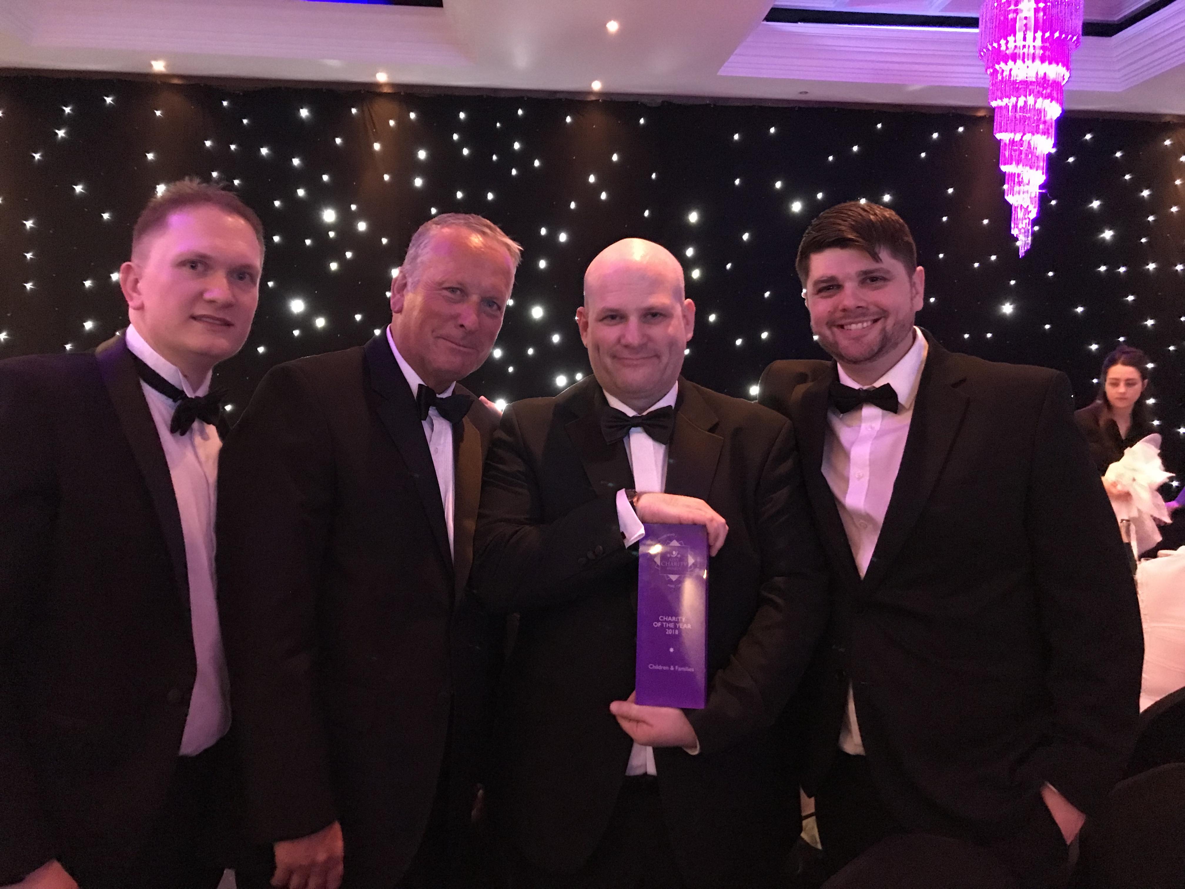 FareShare Kent win award
