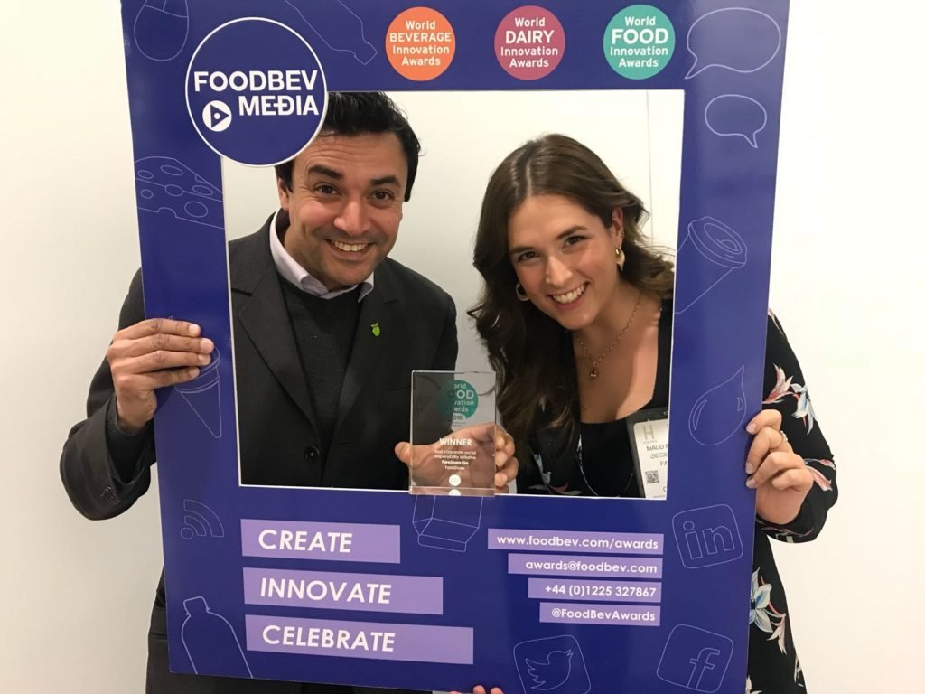 FareShare wins Best CSR Initiative at Wolrd Food Innovation Awards 2018
