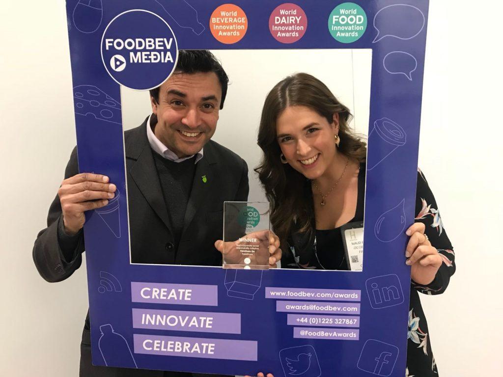 FareShare wins Best CSR Initiative at Wolrd Food Innovation Awards 2018