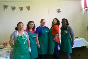 Brushstrokes Community Project, supplied with food from FareShare, prepares meals for refugees and asylum seekers in Birmingham