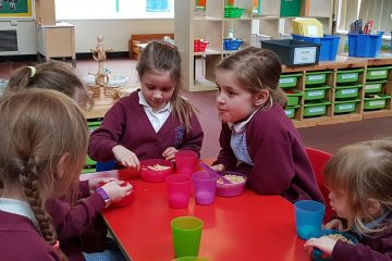 Prudhoe Castle First School, North East, breakfast club