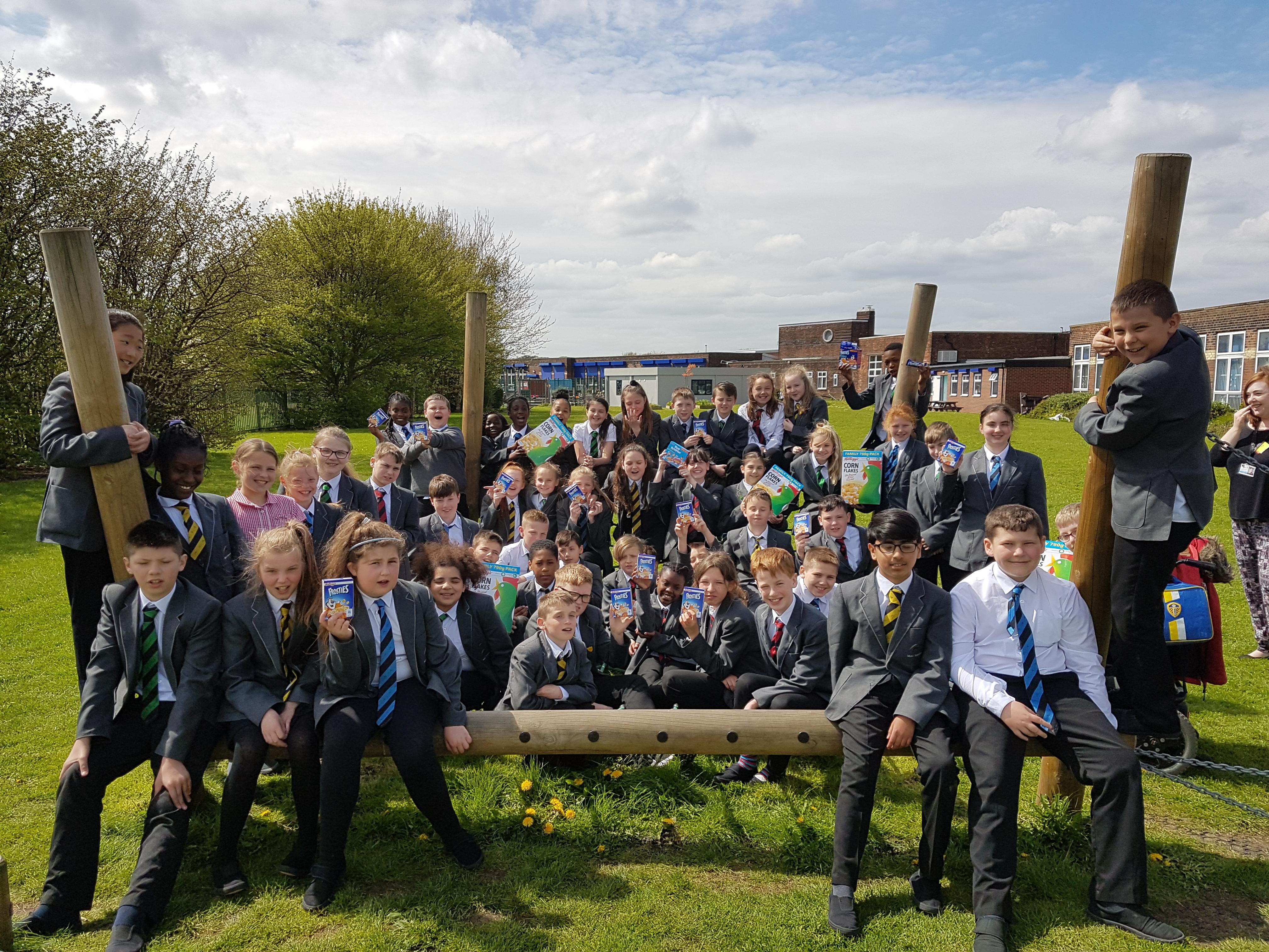 Windmill Primary School, Leeds, breakfast club