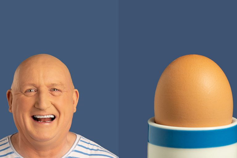 FareShare Creative Shootout volunteer recruitment campaign - Egg