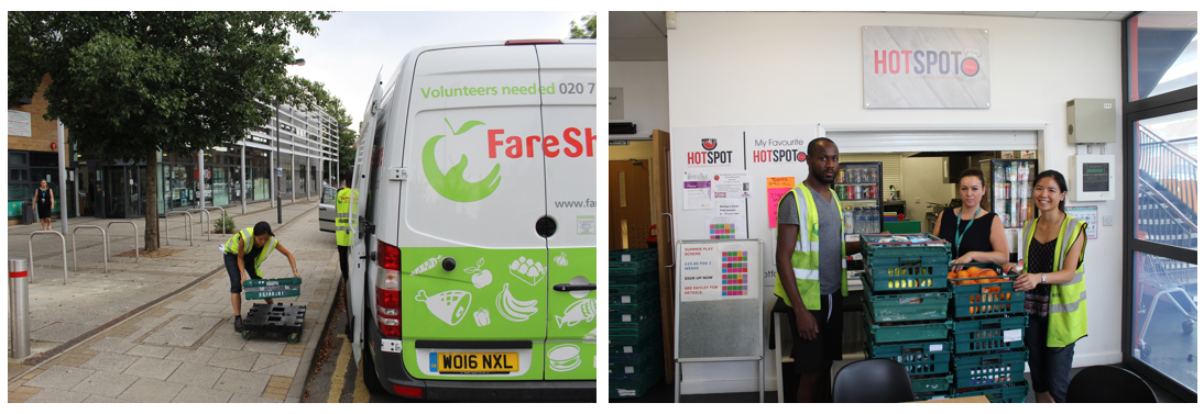 Our final delivery to HotSpot Foods' summer club in Harrow, London