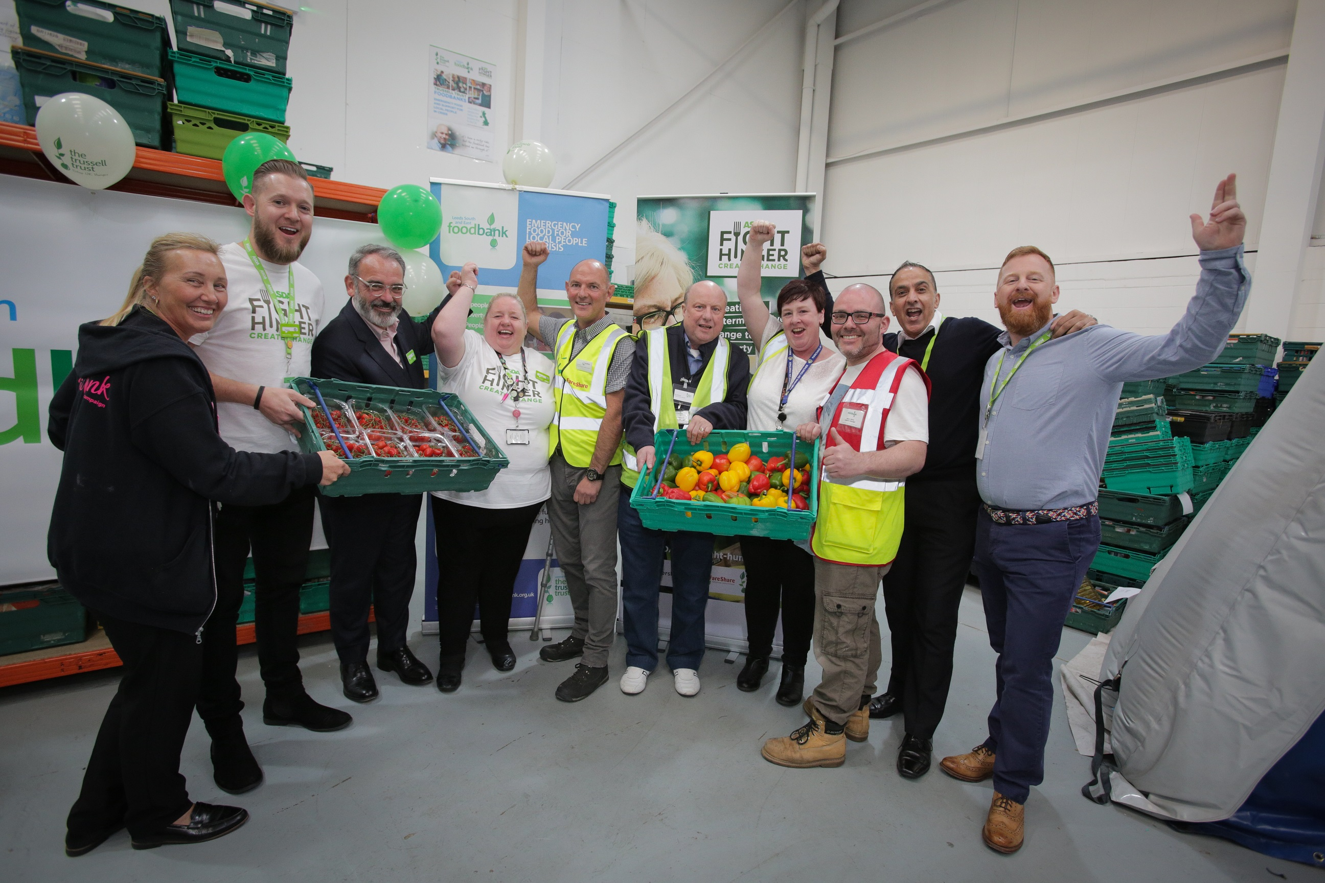 Fareshare Yorkshire Launches New Warehouse With Leeds South