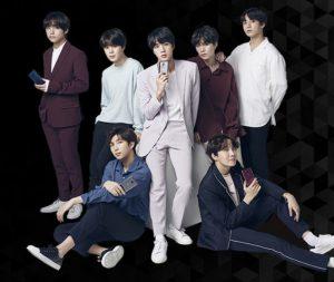 Chart-topping boyband BTS