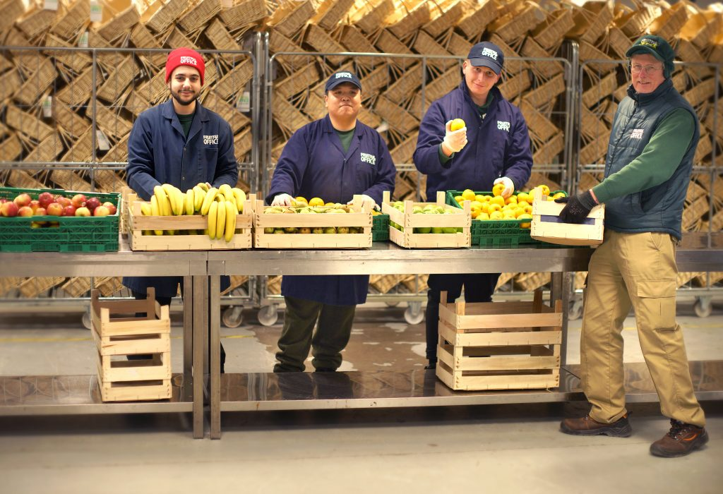 Our Work With Fruitful Office | FareShare